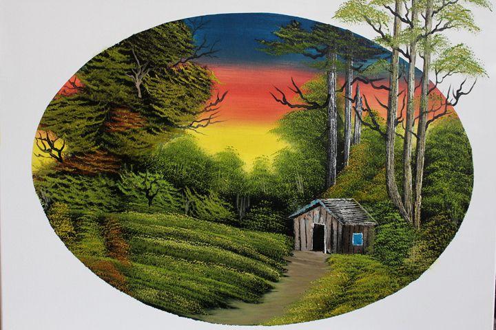 Cabin At Trail's End - Ashwini Biradar