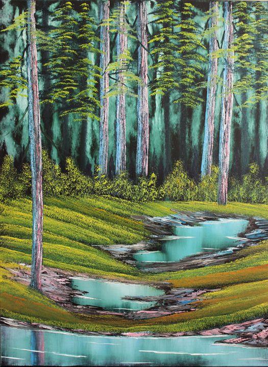 Secluded Forest - Ashwini Biradar