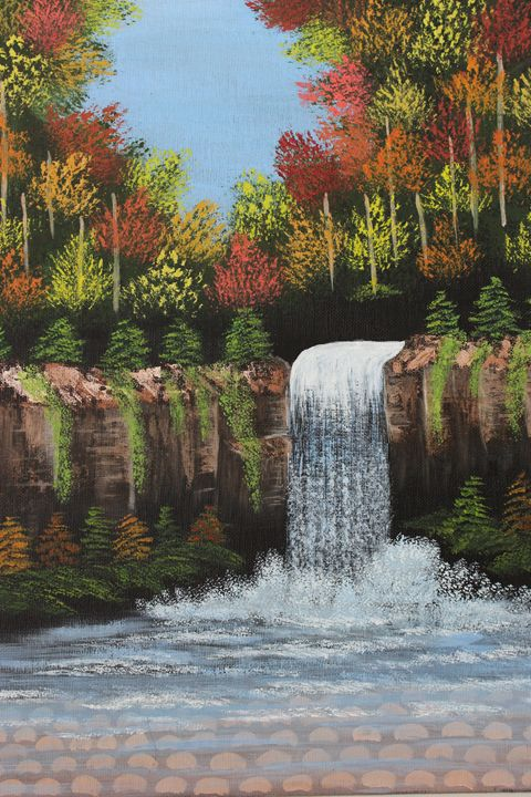 Autumn WaterFall - Ashwini Biradar