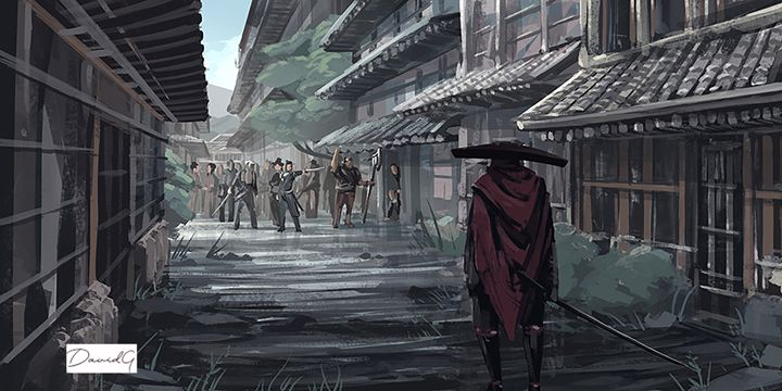 The Outcasted Samurai - ArtyFartybyDave