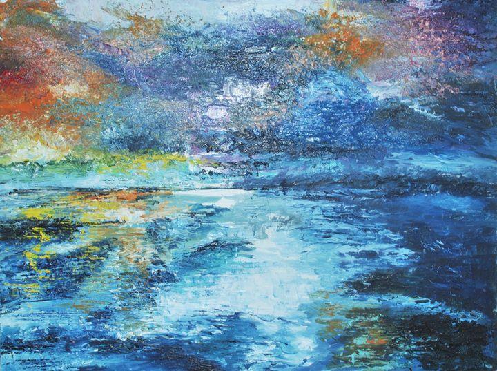 Seaside Sunset - Julia Zelazko