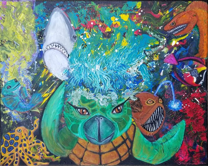 The Big Splash - Ocean Life - Stacy Ann Originals
