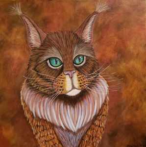 Regal the Maine Coon Cat - Stacy Ann Originals