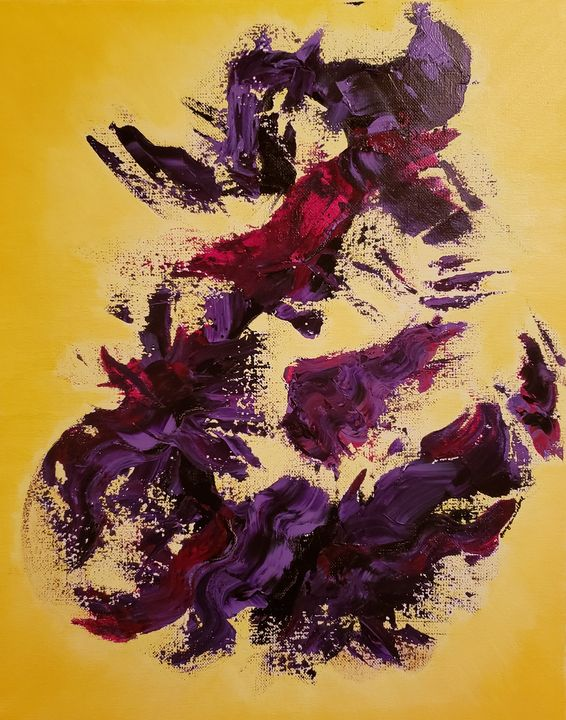 Abstract Painting Shatter - Stacy Ann Originals