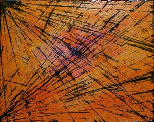 The String Theory Stacy Ann Originals Paintings