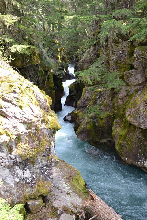 waterfall - kerrieficklin