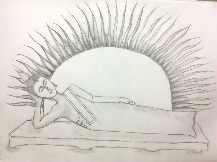 sleeping Buddha - Mk