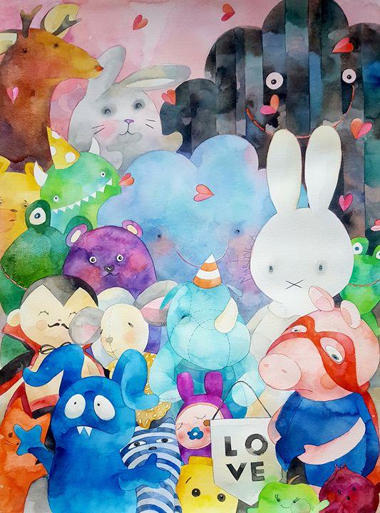 Toy Story| Love is... - Yuliya Martynova