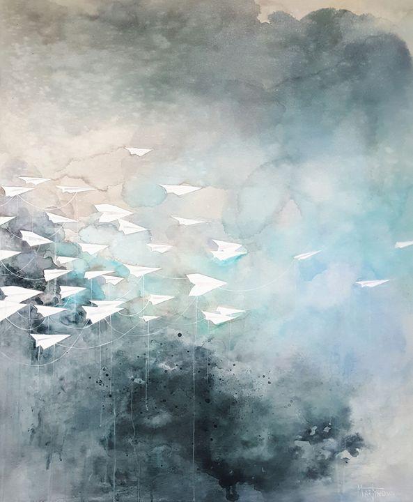 Migration | Illusive freedom - Yuliya Martynova