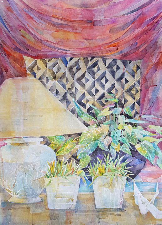 Origami still life - Yuliya Martynova