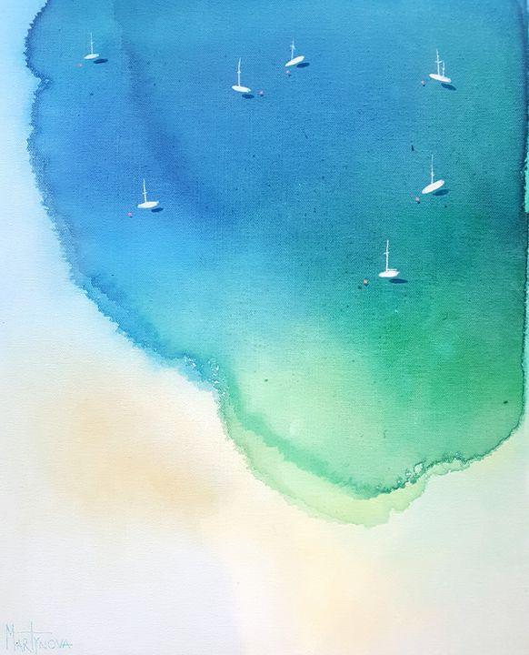 Blue  Bay | Azure II - Yuliya Martynova