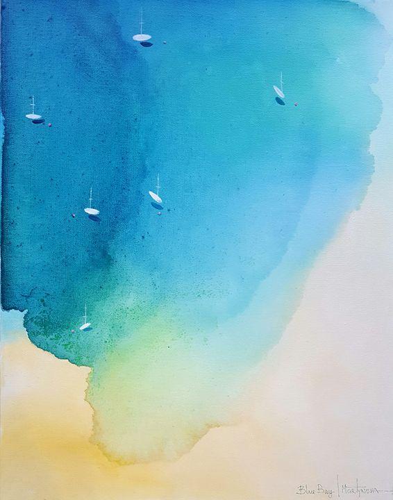 Blue Bay | Azure - Yuliya Martynova