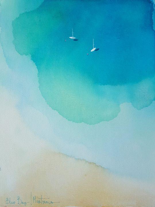 Blue Bay | Tortuga - Yuliya Martynova