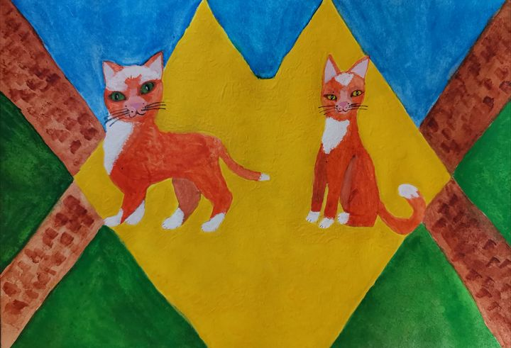 Cats as people, life as a circus or - Da&Ma
