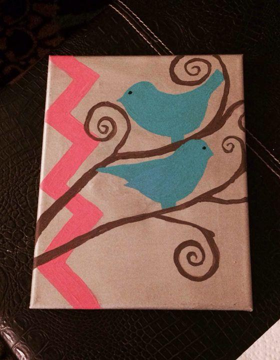 Birds - Jessie's paintings