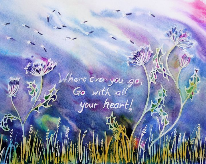 Go with all your heart! - Gleam