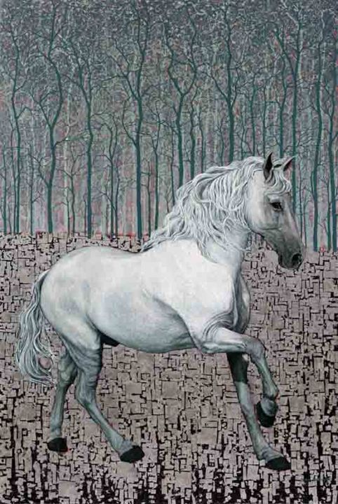 Shadowfax - Oil Painting - Marc Alexander