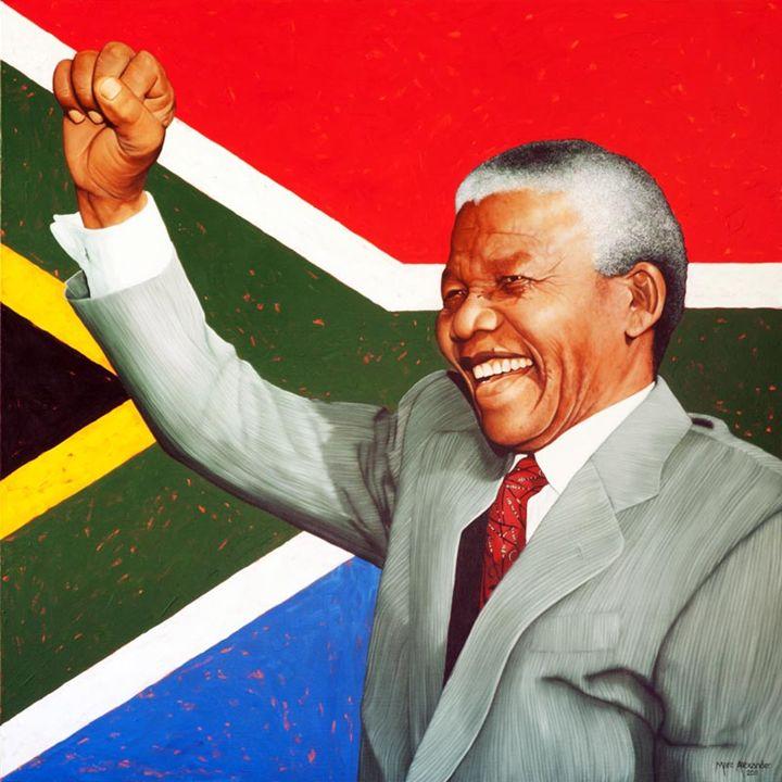 Hope For South Africa - Artist Print - Marc Alexander