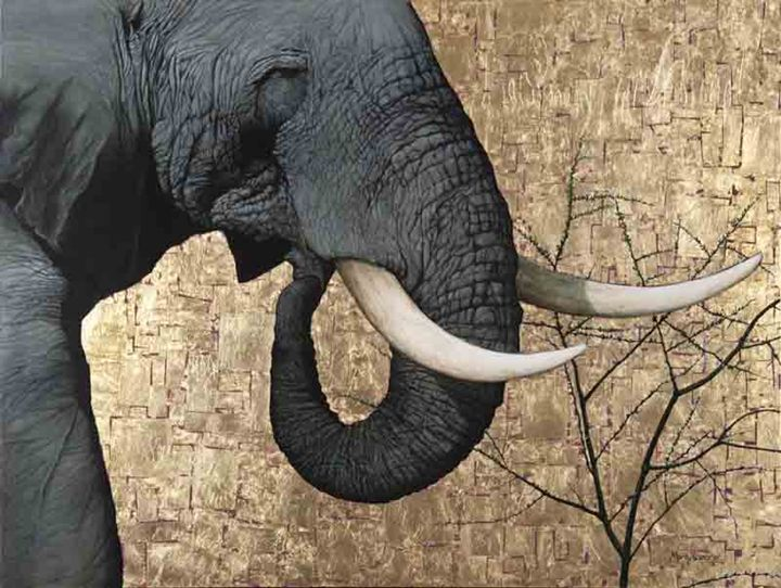 The Mighty Tusker - Artist Print - Marc Alexander