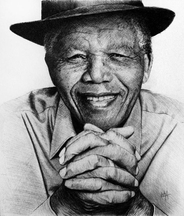 Mandela's Day Off - Artist Print - Marc Alexander