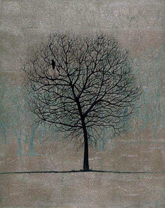 Winter Tree - Artist Print - Marc Alexander