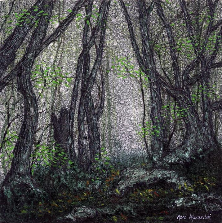 The Secret Path - Artist Print - Marc Alexander