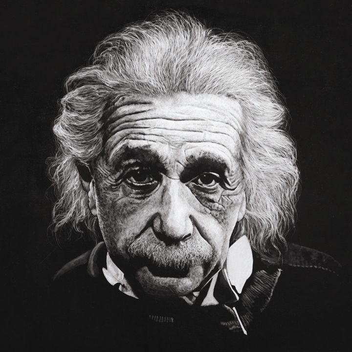 Albert Einstein - Artist Print - Marc Alexander