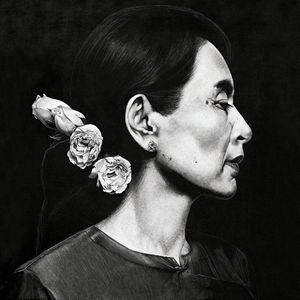 Aung San Suu Kyi - Artist Prints