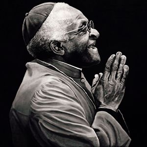 Desmond Tutu - Artist Print