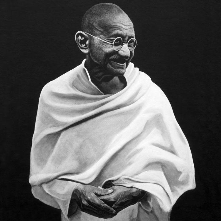Gandhi #1 - Artist Print - Marc Alexander