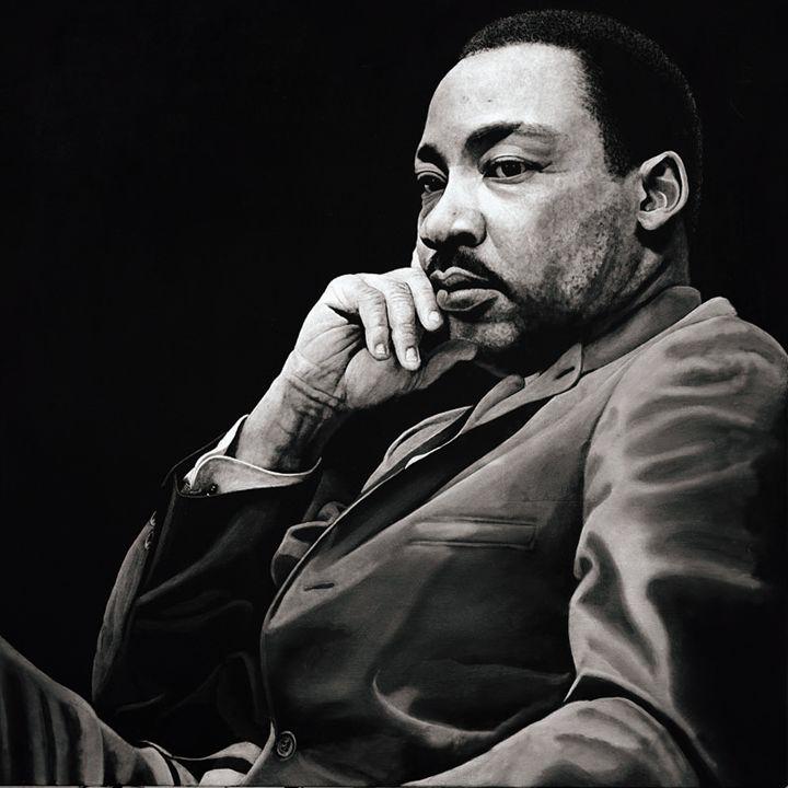 Martin Luther King - Artist Print - Marc Alexander