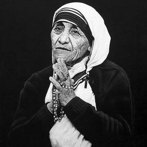 Mother Teresa #1 - Artist Print