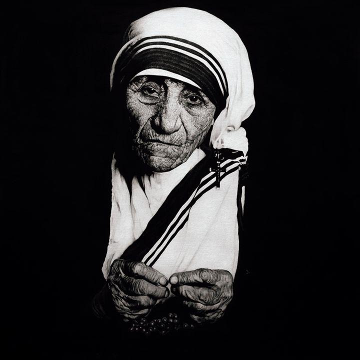 Mother Teresa #II - Artist Print - Marc Alexander