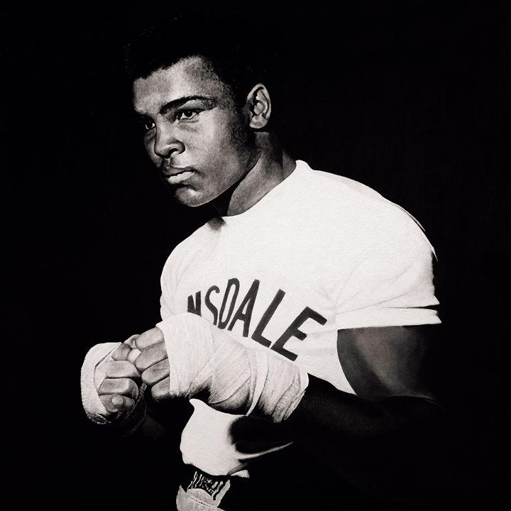 Muhammad Ali - Artist print - Marc Alexander