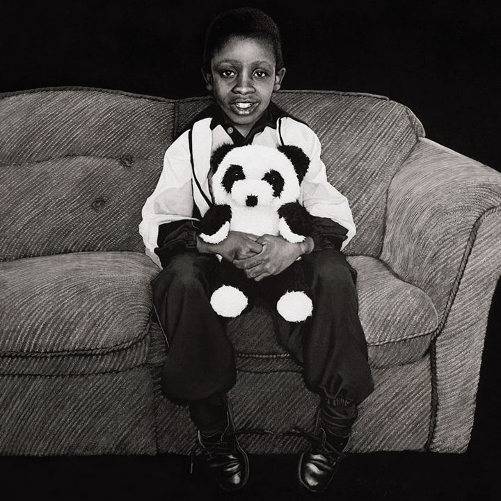 Nkosi Johnson - Artist Print - Marc Alexander