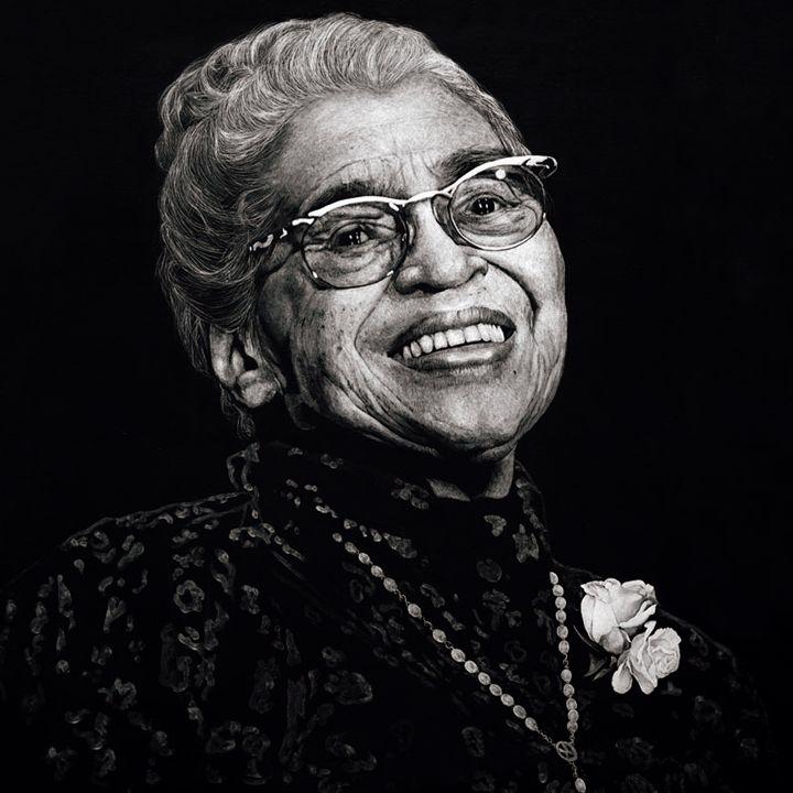 Rosa Parks - Artist Print - Marc Alexander