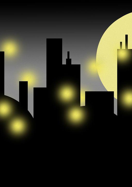 Loneliness Night (Left) - Fitry D Mangaka
