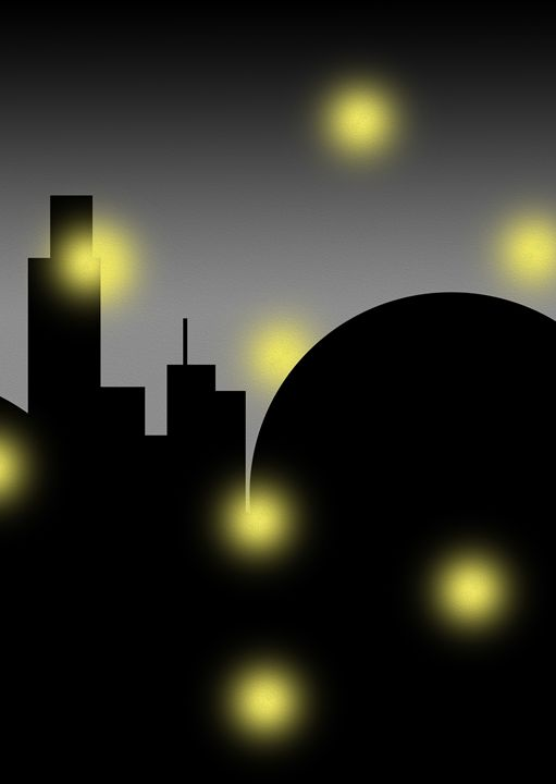 Loneliness Night (Right) - Fitry D Mangaka