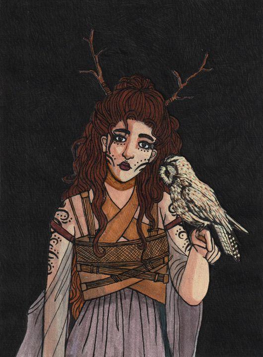 Owl Shaman - Linda Vuorenvirta