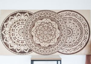 Mandala 3 circles