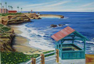 La Jolla Shell Beach Hut