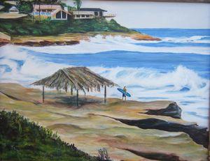 Windansea Surfer