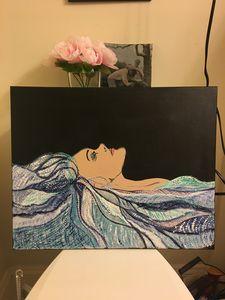 Ocean on her mind