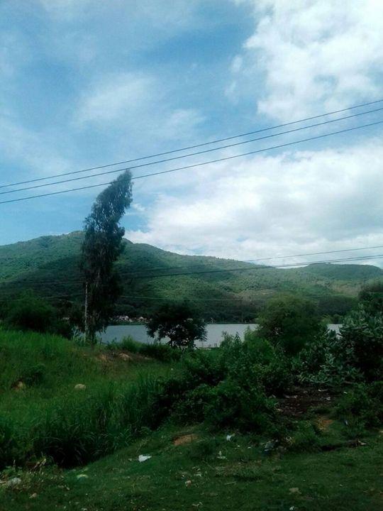 núi và hồ nước - Good-A