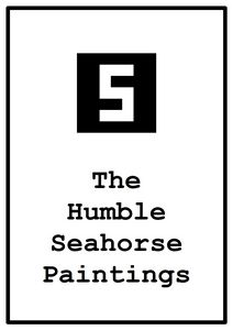 the humble seahorse paintings