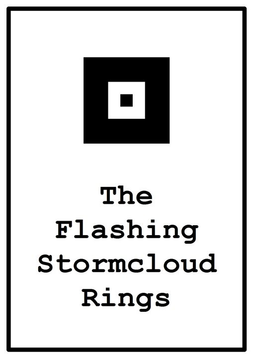 the flashing stormcloud rings - The Tricycle Moon