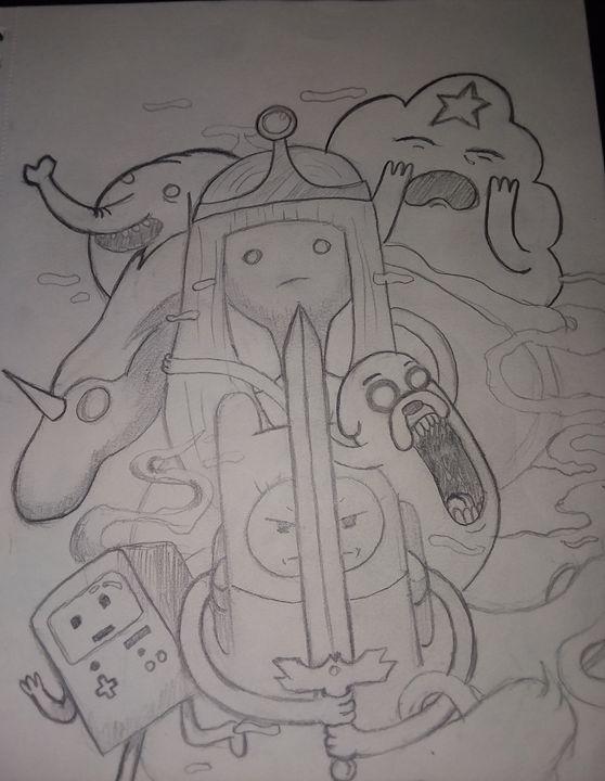Adventure time - cartoons