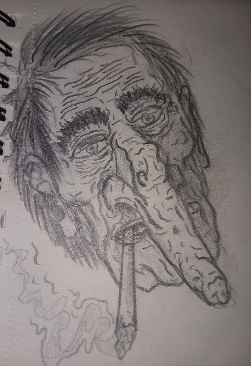 40 year smoker - cartoons