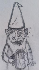 Drunken gnome