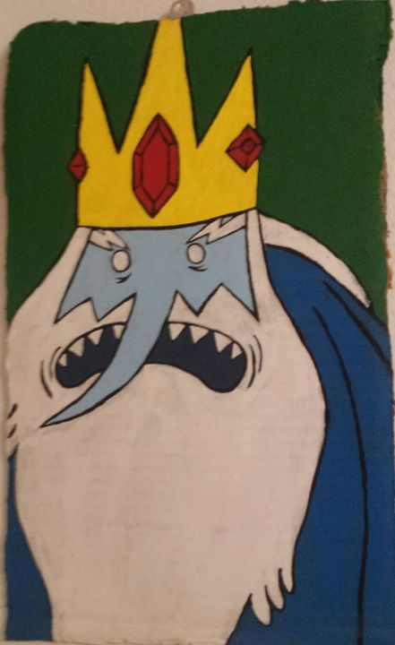 ice king from adventure time - cartoons